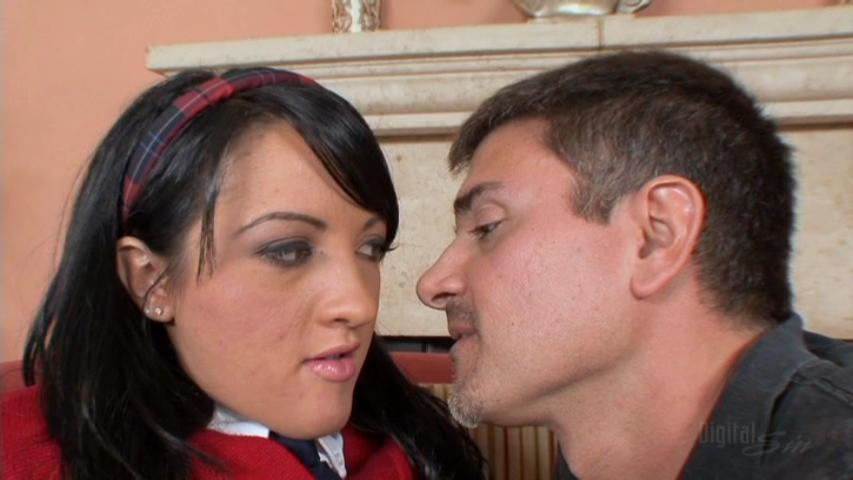 Deena was busted smoking in the park by an upstanding citizen Micheal  Stefano. Mike just has to tell Deena's parents about her bad behavior and  the girl is ...