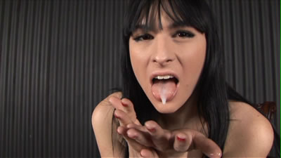 Bailey jay eating her own cum opinion you