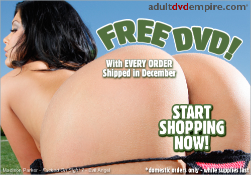 Free DVD with Every Order