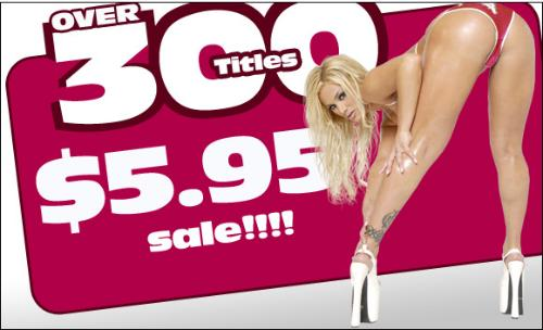 300 Adult DVDs for $5.95