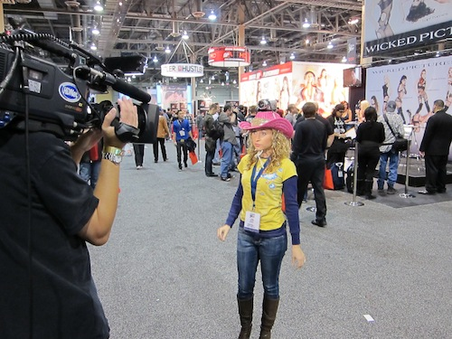 Katie Daryl from HDNet's Deadline