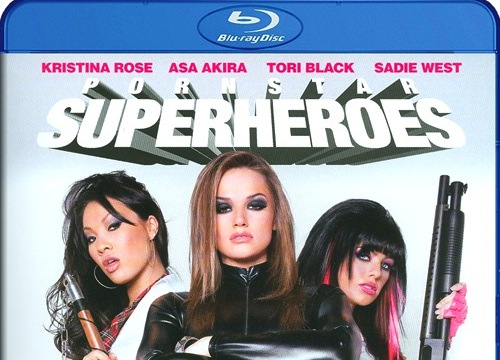 Porn Star Superheroes Blu-Ray