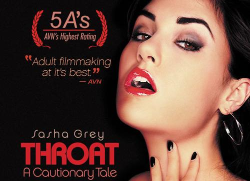 Sasha Grey in Throat: A Cautionary Tale