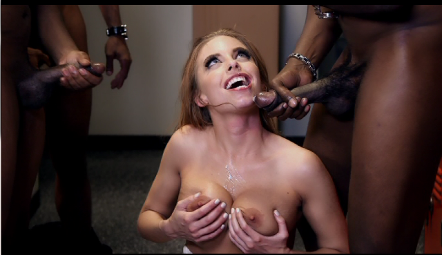 Teacher britney amber gets fucked by her black students