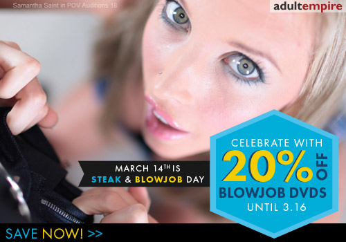 Steak and Blowjob Day