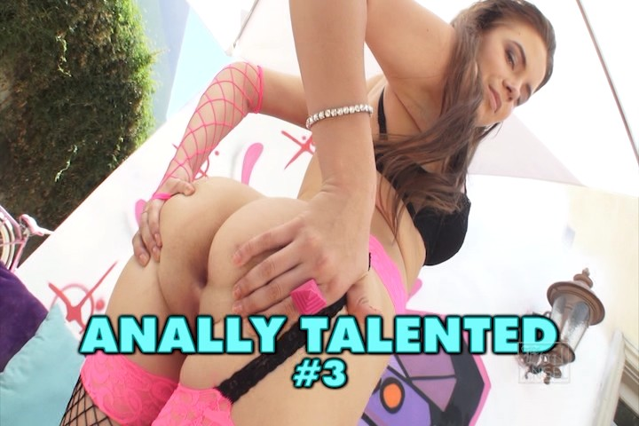 Anally talented 3