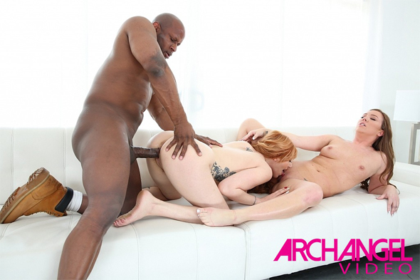 Maddy O'Reilly, Lauren Phillips and Prince Yahshua