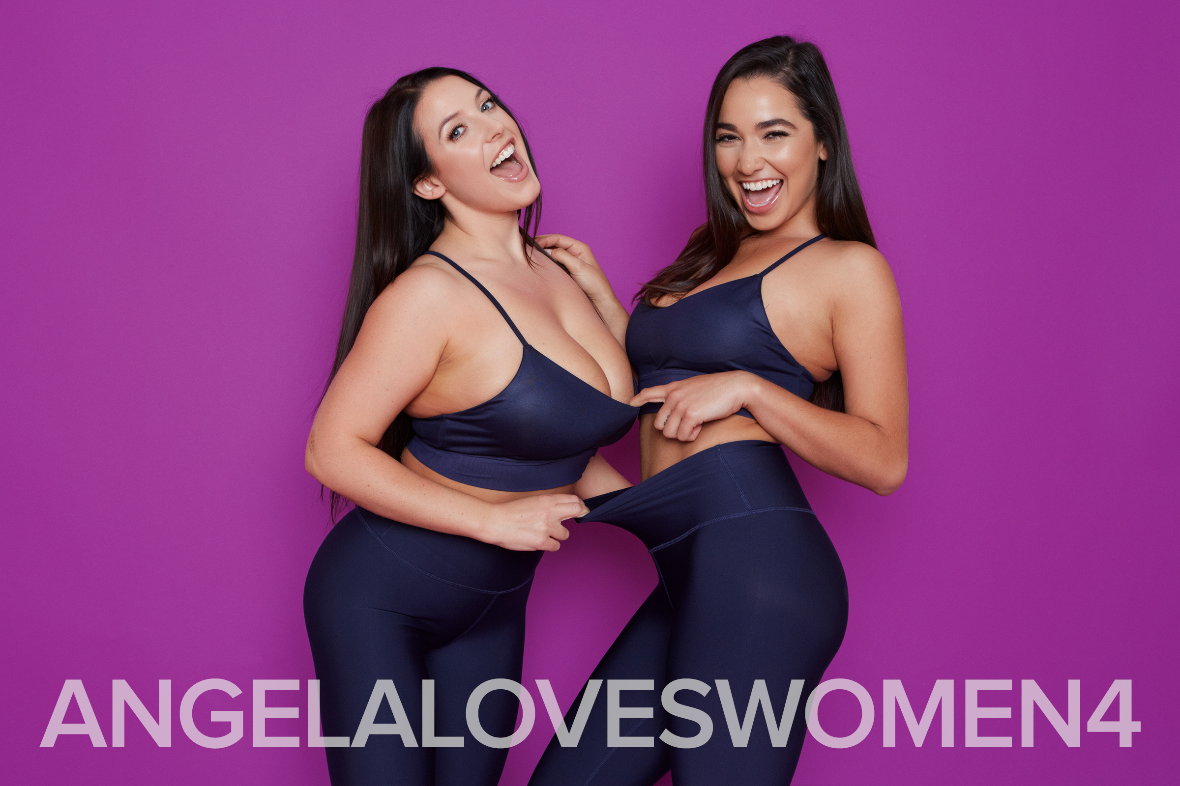 Angela White and Karlee Grey