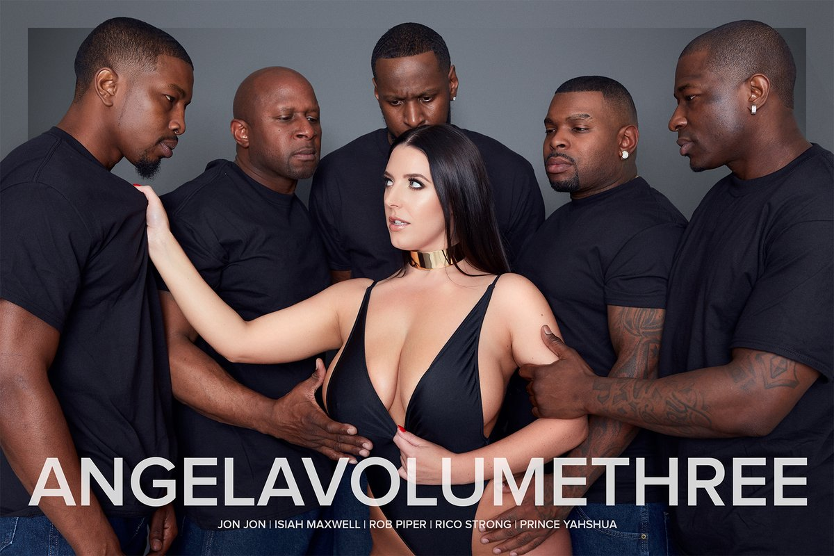 Angela White Interracial Gang Bang