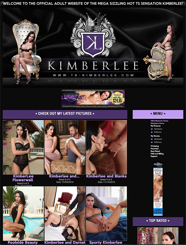 ts-kimberlee.com site screen capture