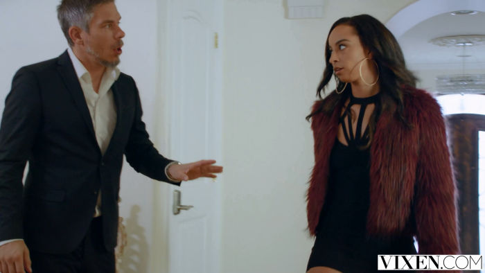 Mick and Teanna confrontation.