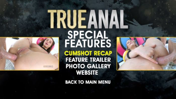 Special features menu on disc 2