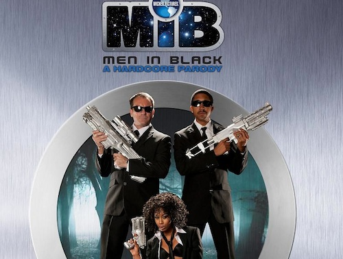 Men In Black Porn Parody