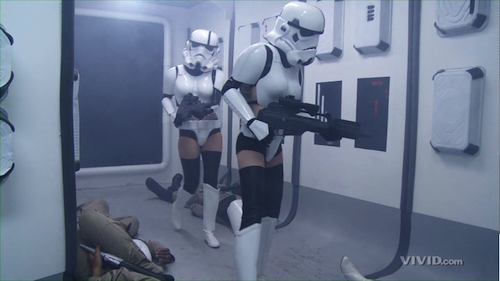 Sexy Storm Troopers