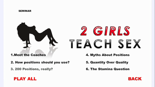 2 Girls Teach Sex