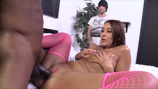 Nasty wife obedient husband sex